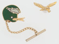 Football Collectibles:Others, Philadelphia Eagles Pin and Tie Tack....