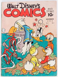 Walt Disney's Comics and Stories #14 (Dell, 1941) Condition: GD/VG