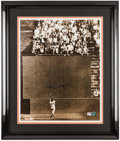 "Baseball Collectibles:Photos, Willie Mays ""The Catch"" Signed Oversized Photograph...."