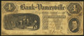 Obsoletes By State:North Carolina, Yanceyville, NC- Bank of Yanceyville $4 Aug. 15, 1855. ...