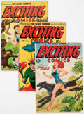 Golden Age (1938-1955):Superhero, Exciting Comics Group of 4 (Nedor/Better/Standard, 1946-49)Condition: Average GD+.... (Total: 4 Comic Books)