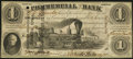 Obsoletes By State:Indiana, Terre Haute, IN- Commercial Exchange Bank $1 Aug. 3, 1858. ...