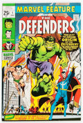 Bronze Age (1970-1979):Superhero, Marvel Feature #1 The Defenders (Marvel, 1971) Condition: FN-....