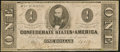 Confederate Notes:1862 Issues, T55 $1 1862 PF-1 Cr. 401.. ...
