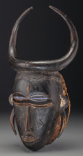 Tribal Art, LIGBE, Ivory Coast, Ghana. Mask...