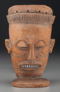 Tribal Art, CHOKWE, Angola, Democratic Republic of the Congo. Male Mask ...(Total: 2 Items)