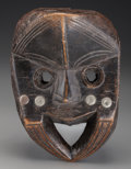 Tribal Art, DAN, Liberia. Clan or Family Mask ...