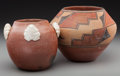 American Indian Art:Pottery, Two Southwest Pottery Jars... (Total: 2 Items)