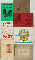 Books:Americana & American History, [Colorado]. Group of Six Books Regarding Local Colorado History.Various publishers and dates. ... (Total: 7 Items)
