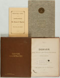 Books:Americana & American History, [Colorado]. Group of Four Books Related to Denver. Variouspublishers and dates. ... (Total: 4 Items)
