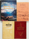 Books:Americana & American History, [Colorado]. Group of Four American History Titles, One of Which isSIGNED. Various publishers and dates.... (Total: 4 Items)