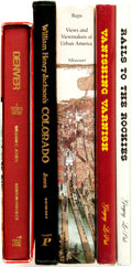 Books:Americana & American History, [American History]. Group of Five Titles, Four of Which areSIGNED/INSCRIBED. Various publishers and dates.... (Total: 5 Items)