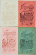 Books:Periodicals, Lewis Bishop. Group of Four Issues of The Philatelist Magazine,Vol. I, No. 1-4. Denver, Colorado: Lewis Bishop,... (Total: 4Items)