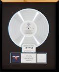 Music Memorabilia:Awards, Van Halen II RIAA Hologram Platinum Record Sales Award(Warner Bros. HS 3312, 1979). ...