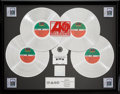 Music Memorabilia:Awards, Led Zeppelin IV (Zoso) RIAA Quadruple-Platinum Record Award(Atlantic SD 19129, 1971)....