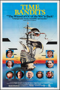 "Movie Posters:Fantasy, Time Bandits (Avco Embassy, R-1982). One Sheet (27"" X 41""). Fantasy.. ... (Total: 2 Items)"