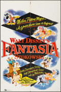 "Movie Posters:Animation, Fantasia (Buena Vista, R-1953). One Sheet (27"" X 41""). Animation....."
