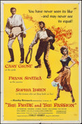 "Movie Posters:Adventure, The Pride and the Passion (United Artists, 1957). One Sheet (27"" X41""). Adventure.. ..."