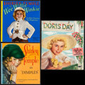 "Movie Posters:Adventure, Wee Willie Winkie & Others Lot (Saalfield Publishing, 1937).Books (2) (Multiple Pages, 9.5"" X 10"") & Paper Doll Book(10.2... (Total: 3 Items)"
