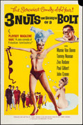 "Movie Posters:Sexploitation, 3 Nuts in Search of a Bolt (Harlequin International, 1964). OneSheet (27"" X 41""). Sexploitation.. ..."