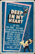 """Movie Posters:Musical, Deep in My Heart & Other Lot (MGM, 1954). One Sheets (2) (27"""" X 41""""). Musical.. ... (Total: 2 Items)"""