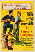 "Movie Posters:Comedy, The Farmer's Daughter & Other Lot (Selznick, R-1954). One Sheets (2) (27"" X 41""). Comedy.. ... (Total: 2 Items)"