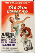 """Movie Posters:Drama, The Sun Comes Up (MGM, 1949). One Sheet (27"""" X 41""""). Drama.. ..."""