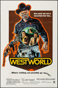 "Movie Posters:Science Fiction, Westworld (MGM, 1973). One Sheet (27"" X 41""). Science Fiction.. ..."