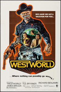 """Westworld (MGM, 1973). One Sheet (27"""" X 41""""). Science Fiction"""