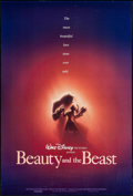 "Movie Posters:Animation, Beauty and the Beast (Buena Vista, 1991). One Sheet (27"" X 40"") DSAdvance. Animation.. ..."