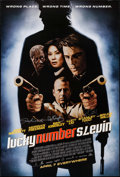 """Movie Posters:Crime, Lucky Number Slevin (MGM, 2006). Autographed One Sheet (27"""" X 40"""")DS Advance. Crime.. ..."""