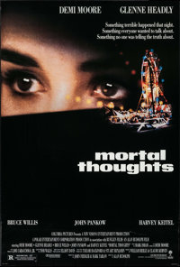 "Mortal Thoughts (Columbia, 1991). One Sheets (45) Identical (26.75"" X 39.75"") DS. Thriller. ... (Total: 45 Ite..."