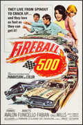 "Movie Posters:Action, Fireball 500 (American International, 1966). One Sheet (27"" X 41"").Action.. ..."