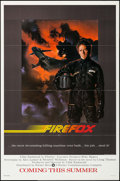 "Movie Posters:Action, Firefox & Other Lot (Warner Brothers, 1982). One Sheets (2)(27"" X 41"") Advance. Action.. ... (Total: 2 Items)"