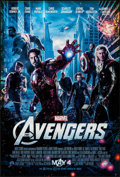 "Movie Posters:Science Fiction, The Avengers (Walt Disney Studios, 2012). One Sheet (27"" X 40"") DS Advance. Science Fiction.. ..."