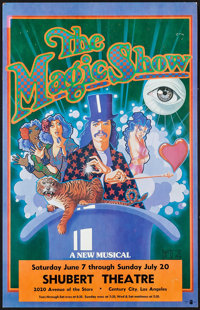 "The Magic Show at the Shubert Theatre (Shubert Theatre, 1980s). Musical Poster (14"" X 22""). Musical"