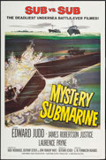 "Movie Posters:Adventure, Mystery Submarine (Universal, 1950). One Sheet (27"" X 41"").Adventure.. ..."