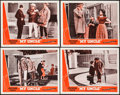 "Movie Posters:Foreign, Mon Oncle (Continental, 1959). Lobby Card Set of 4 (11"" X 14""), Photos (6) (8"" X 10""), Trimmed One Sheet (27"" X 28"") & Press... (Total: 12 Items)"