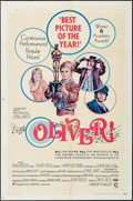 "Movie Posters:Academy Award Winners, Oliver! (Columbia, 1969). One Sheet (27"" X 41"") Academy Award Style, Lobby Cards (7) (R-1972) (11"" X 14""), Window Card (14"" ... (Total: 10 Items)"