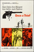 "Movie Posters:Crime, Once a Thief (MGM, 1965). One Sheet (27"" X 41"") & Lobby Card Set of 8 (11"" X 14""). Crime.. ... (Total: 9 Items)"