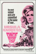 """Movie Posters:War, Once Before I Die (Seven Arts, 1966). One Sheet (27"""" X 41"""") &Lobby Card Set of 8 (11"""" X 14""""). War.. ... (Total: 9 Items)"""