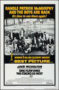 "Movie Posters:Academy Award Winners, One Flew Over the Cuckoo's Nest (United Artists, 1975/R-1978). OneSheets (2) (27"" X 41""), Pressbook (8 Pages, 11"" X 17"") & ...(Total: 4 Items)"