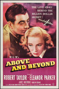 "Above and Beyond (MGM, 1952). One Sheet (27"" X 41""). Drama"