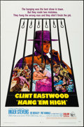 """Movie Posters:Western, Hang 'Em High (United Artists, 1968). One Sheet (27"""" X 41""""). Western.. ..."""