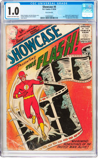 Showcase #4 The Flash (DC, 1956) CGC FR 1.0 Cream to off-white pages