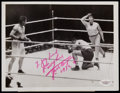 Boxing Collectibles:Autographs, Jack Dempsey Signed News Photograph....