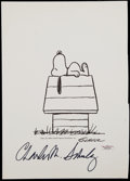 Miscellaneous Collectibles:General, Charles Schulz Signed Print....