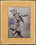Football Collectibles:Photos, Red Grange Signed Photograph....