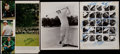 Golf Collectibles:Autographs, Ben Hogan, Arnold Palmer and Others Signed Photographs (3)....