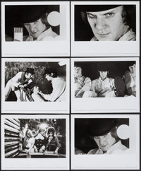 """A Clockwork Orange (Warner Brothers, 1972). Photos (10) (8"""" X 10""""). Science Fiction. ... (Total: 10 Items)"""
